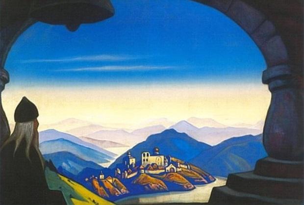 Н.К.Рерих. Terra Slavonica. (Земля Славянская) . 1943