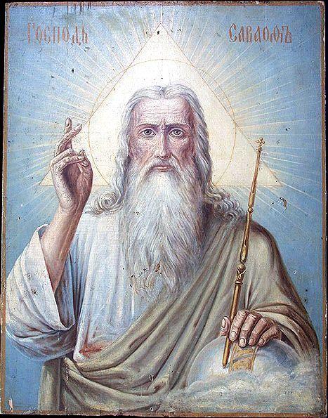 Бог отдыхал в небесных теремах