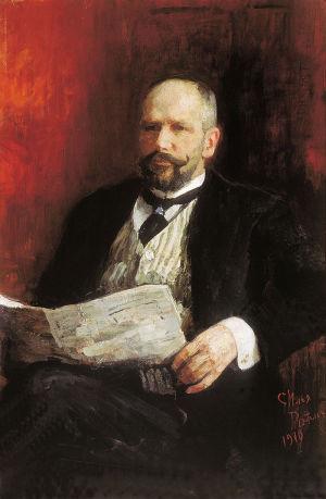 П. А. Столыпин. Портрет работы И. Репина (1910)