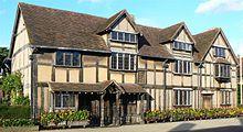 Дом Джона Шекспира считается местом рождения Уильяма
