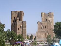Руины Дворца Тамерлана, Узбекистан(настоящее время)