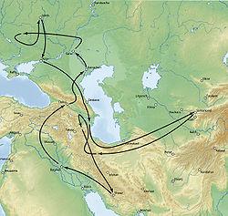 Поход Тимура против Золотой Орды в1395 году