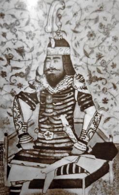 Портрет Тамерлана. Миниатюра XV века