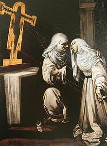 Рутилио Манетти.Стигматизация святой Екатерины Сиенской