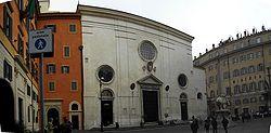 Церковь Санта-Мария сопра Минерва