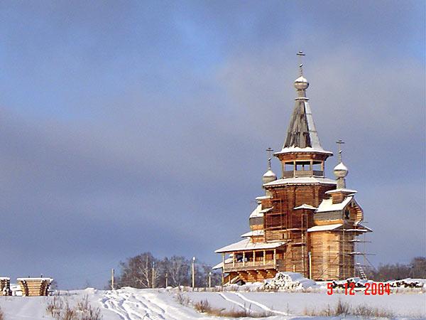 Храм во имя Преподобного Сергия Радонежского (на территории Источников)