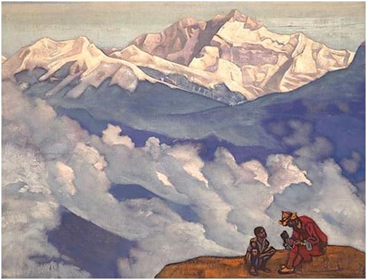 Н. К. Рерих. Жемчуг Исканий. Серия «Его Страна». 1924