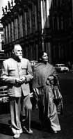 С.Н. Рерих и  Д. Рани Рерих. 1960.
