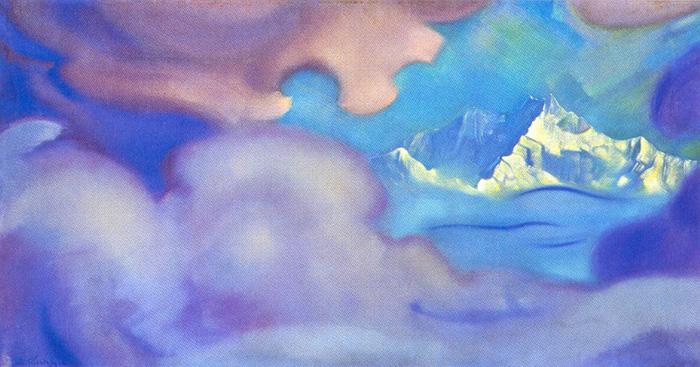 С.Н. Рерих. Канченджанга. Цитадель.1954