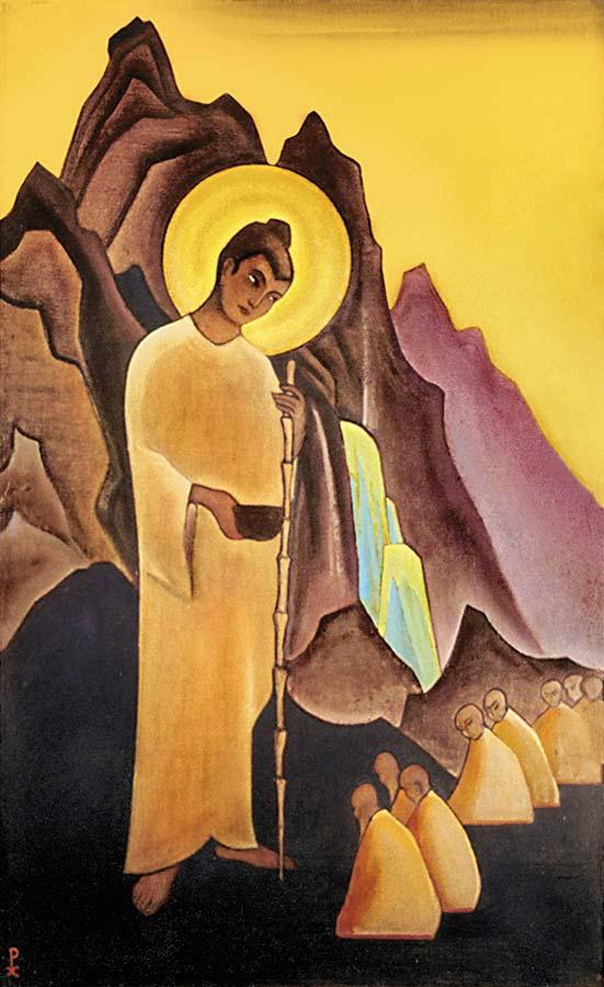 Н.К.Рерих. Благословенный. (Панацея). Ок.1939