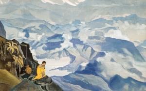 Н.K. Рерих. Капли жизни. 1924 г. Музей Николая Рериха. Нью-Йорк, США