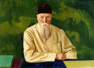 С.Н. Рерих. Профессор Николай Рерих. (1937) Государственный музей искусства народов Востока (Москва)
