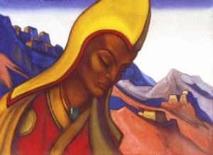 Н.К. Рерих. Лама. 1942 г. Государственный музей искусства народов Востока. Москва, Россия