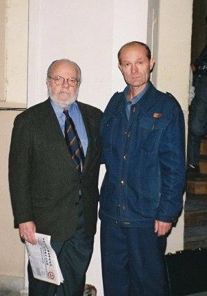 Даниэль Энтин и Алексей Анненко. Москва. 1996 г.