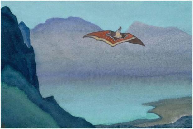 Ковер - самолет. Н. К. Рерих