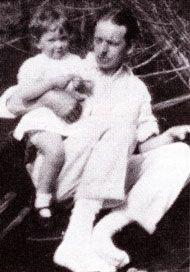 Д-р Э. Бах с дочерью