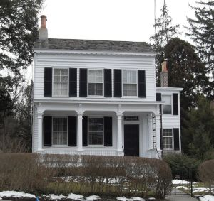 Дом Эйнштейна в Принстоне
