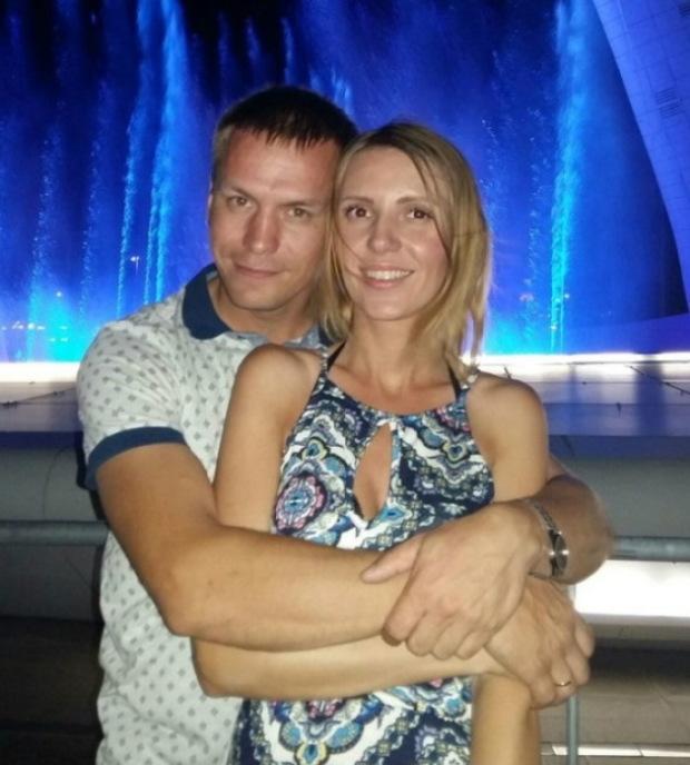 Антон и его вторая жена Людмила
