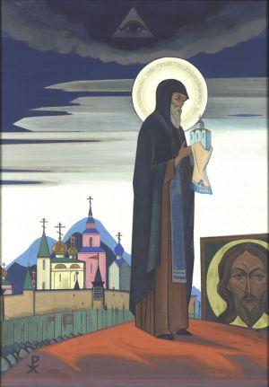 Святой Сергий Радонежский. 1932