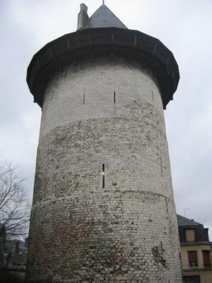 Башня в Руане, где Жанну допросили 9 мая 1431 года