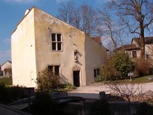Дом Жанны д'Арк в Домреми. Ныне— музей
