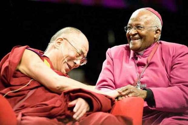 Далай Лама XIV и Десмонд Туту