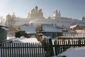 Ансамбль Успенского Горицкого монастыря (основан в первой половине XIV века) в городе Переславль-Залесский.  Фото: Борис Кавашкин/ТАСС