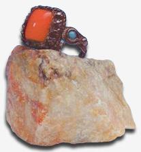 Кольцо Б.Н. Абрамова, полученное от Н.К. Рериха