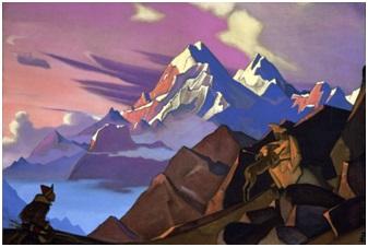 Н. К. Рерих. Милосердие (Сострадание). (1936) http://gallery.facets.ru/show.php?id=793