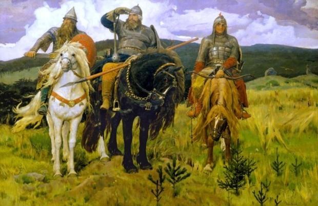 Виктор Михайлович Васнецов. Богатыри. 1898 г.