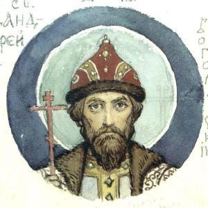 Андрей Боголюбский (работа В. М. Васнецова)