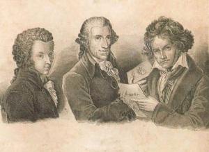 Р. Шайн. Моцарт, Гайдн, Бетховен