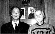 C.Ю. (слева) и Ю.М. Ключниковы