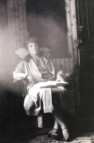 Елена Ивановна Рерих. Нью-Йорк, 1923.