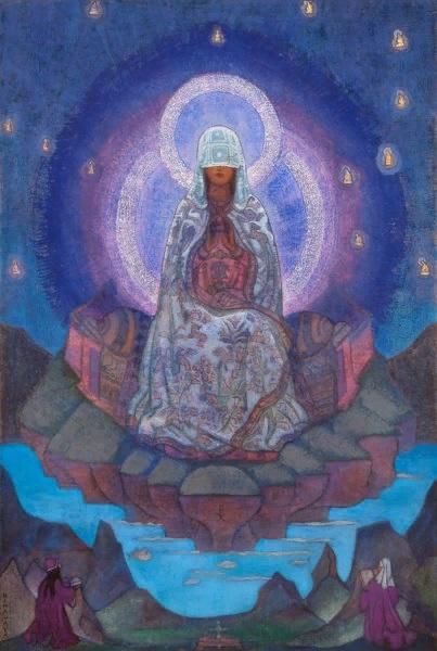 Картина Н.К. Рериха «Матерь Мира». 1924