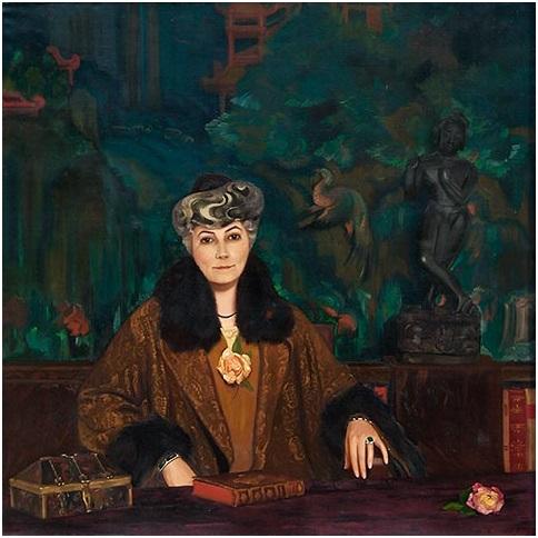 С. Н. Рерих. Портрет Е. И. Рерих. 1937