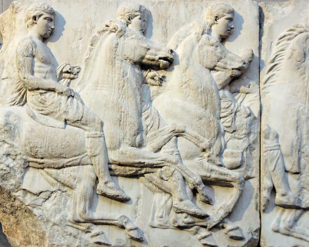 Всадники. Фриз Парфенона. V в. до н.э.