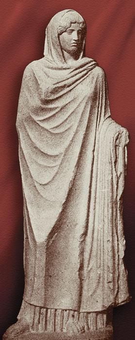 Аспазия. Римская копия