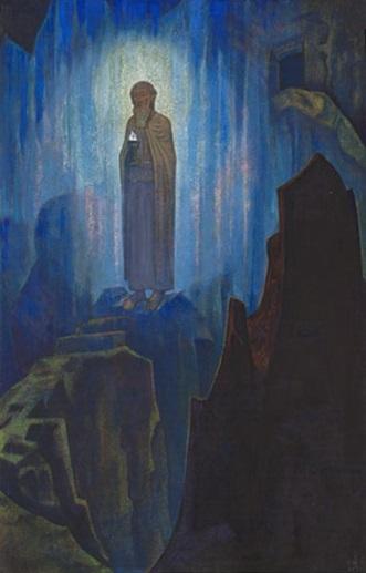 Н. К. Рерих. Небесный Свет. 1931