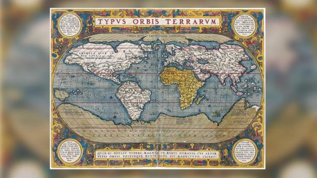 На этой карте 1570 года Гиперборея показана как арктический континент и описывается как Terra Septemtrionalis Incognita (Неизвестная Северная Земля) Фото: commons.wikimedia.org/Acervo Fundação Biblioteca Naciona