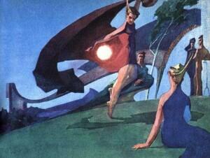 Танец с шаровой молнией