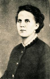 Анна Григорьевна Достоевская, супруга Федора Михайловича. 1868