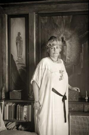 ЕЛЕНА ИВАНОВНА РЕРИХ. Наггар, Индия. 1930-е гг