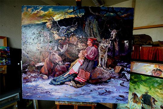 «Голос предков» А.Шадрин Фото: «БИЗНЕС Online»