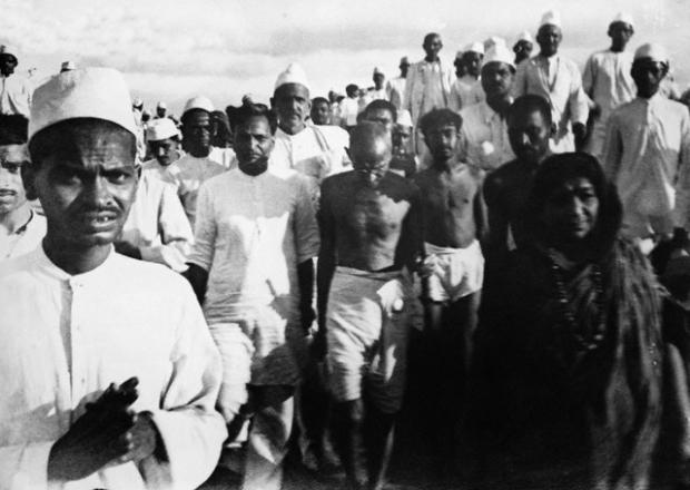 Соляной поход, 12 марта 1930 года