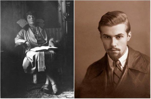 Рерих Елена Ивановна и Святослав Николаевич Рерих (1924 г). Дарджилинг.
