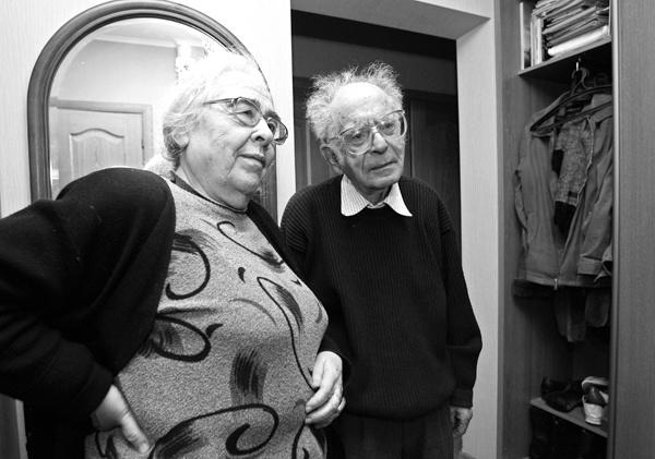 Зинаида Миркина и Григорий Померанц. Фото О.Прасолова