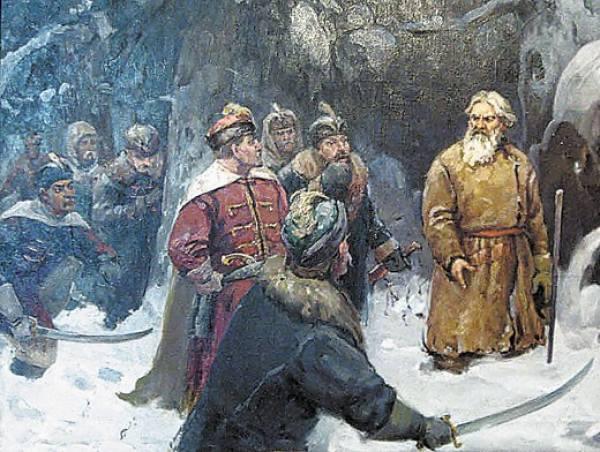 А. Баранов. Подвиг Ивана Сусанина