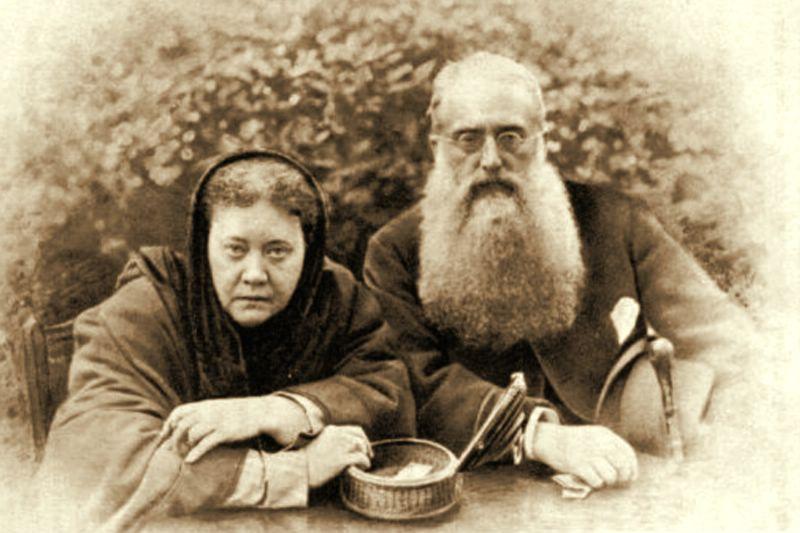 Елена Блаватская и Генри Олкотт