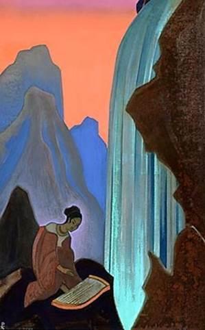 Н.К.Рерих. Песнь водопада. 1937